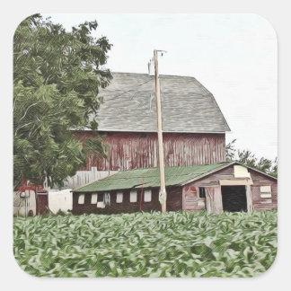 Midwest resistiu ao celeiro que cultiva etiquetas