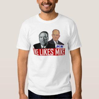 Mike Huckabee para o presidente em 2016 Tshirt