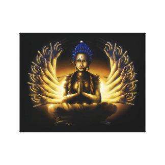Mil braços Buddha - impressão das canvas Impressão Em Tela Canvas