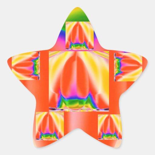 Milagre da ESTRELA - data das economias para Adesivo Em Forma De Estrela
