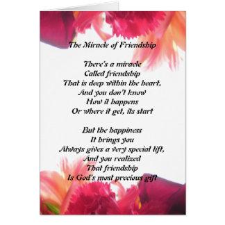 Milagre do cartão da amizade