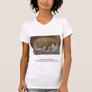 Milagre durante o êxodo pelo Mosaicist bizantino Camisetas