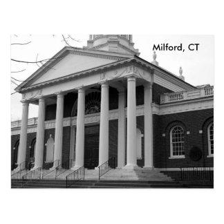 Milford, cartão do CT