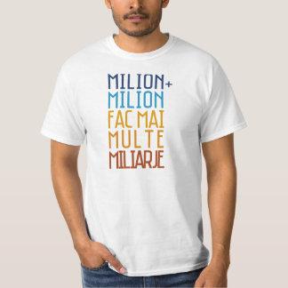 Milhão ciganos do Romanian do t-shirt