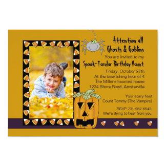 Milho de doces - festa de aniversário Invita do Convite 12.7 X 17.78cm