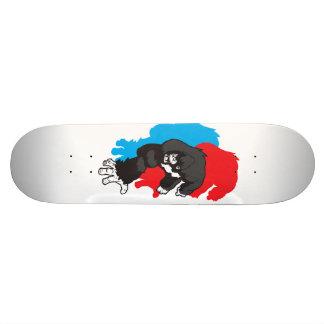 Milícia da guerrilha: Ícone dos desenhos animados Shape De Skate 21,6cm