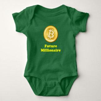 Milionário futuro body para bebê