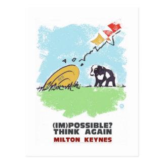 Milton Keynes pensa outra vez o cartão