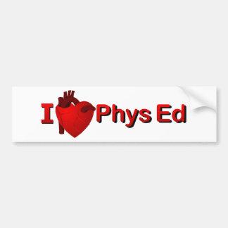 Mim <3 Phys Ed Adesivo