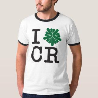 Mim algo t-shirt dos homens de Cedar Rapids Camiseta