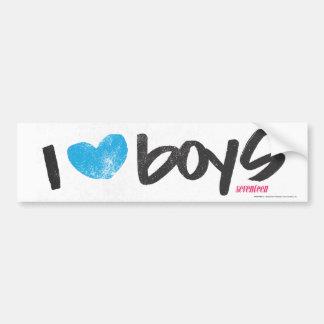 Mim Aqua dos meninos do coração Adesivos