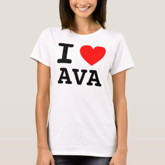 Mim AVA do coração Camiseta
