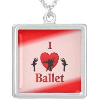 Mim balé do coração colares personalizados