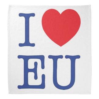 Mim Bandana da UE do coração