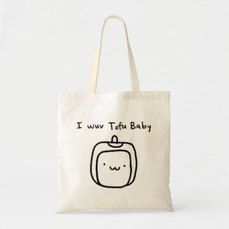Mim bebê do Tofu de Wuv Bolsas