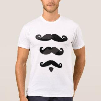Mim bigode você com bigodes diferentes camisetas