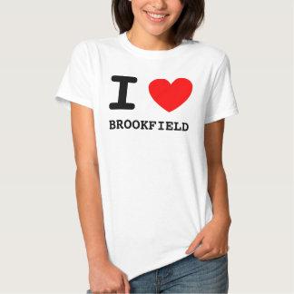 Mim BROOKFIELD do coração Camiseta