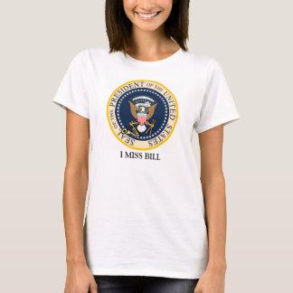 Mim camisa da senhorita Bill Clinton