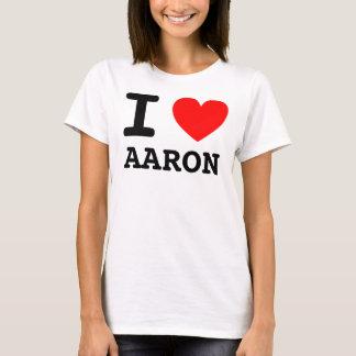 Mim camisa de Aaron do coração