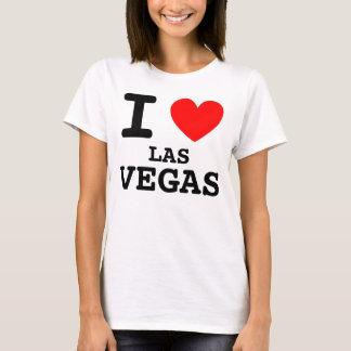 Mim camisa de Las Vegas do coração