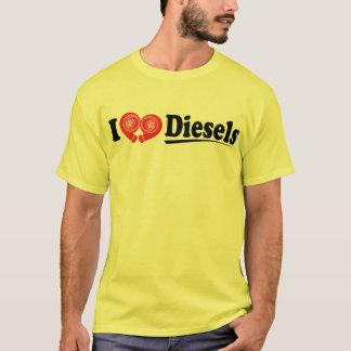 Mim camisa dos diesel do coração