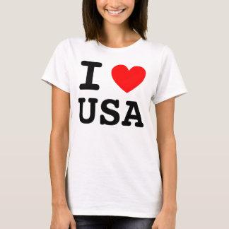 Mim camisa dos EUA do coração