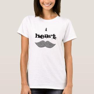 mim camisa dos moustaches t do coração