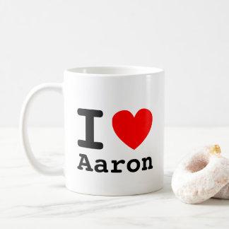 Mim caneca de Aaron do coração