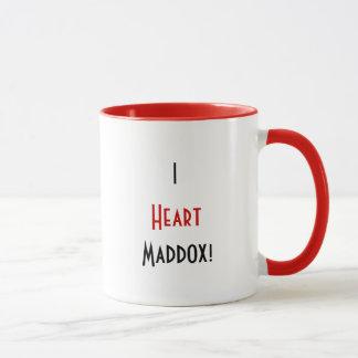 Mim caneca de Maddox do coração