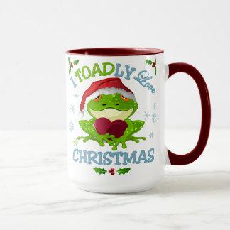 Mim caneca do Natal do amor de Toadly
