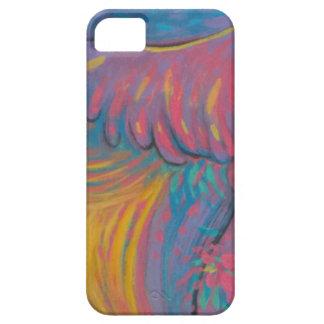 Mim capa de telefone com arte abstracta capa para iPhone 5