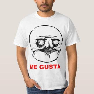 Mim cara Meme da raiva de Gusta Camiseta