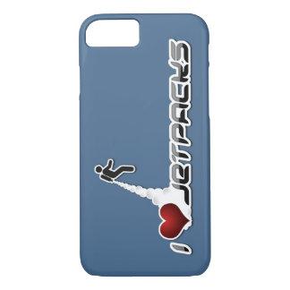 Mim caso do iPhone 7 de Jetpacks do coração Capa iPhone 7