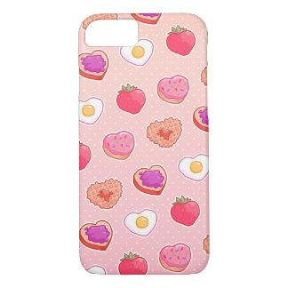 Mim caso do iPhone 7 do pequeno almoço <3 Capa iPhone 7