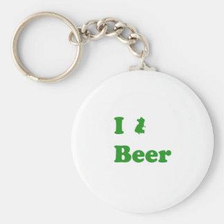 Mim cerveja de Dublin Chaveiro