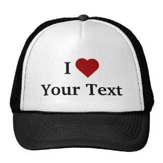 Mim chapéu do coração (personalize) boné