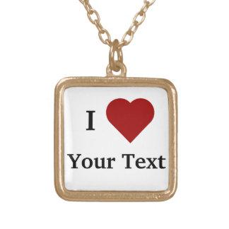Mim colar do coração (personalize)