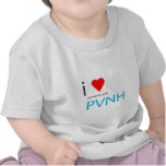 Mim coração alguém com PVNH Camisetas