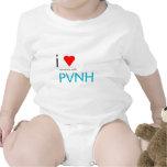 Mim coração alguém com PVNH Macacãozinho Para Bebês