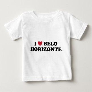 Mim coração Belo Horizonte Brasil Camiseta Para Bebê