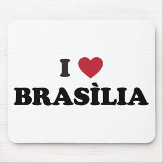 Mim coração Brasília Brasil Mouse Pad