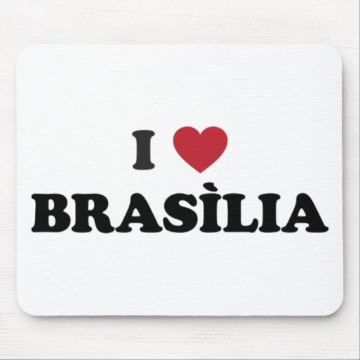 Mim coração Brasília Brasil Mousepad