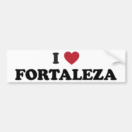 Mim coração Fortaleza Brasil Adesivo