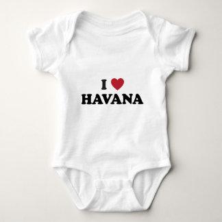 Mim coração Havana Cuba Camisetas