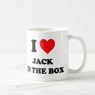 Mim coração Jack in the Box Canecas