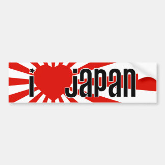 Mim coração Japão Adesivo