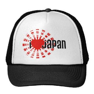 Mim coração Japão! Boné