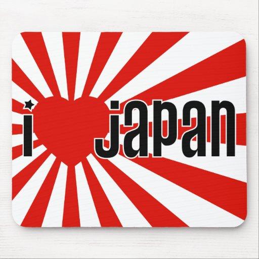 Mim coração Japão! Mouse Pad