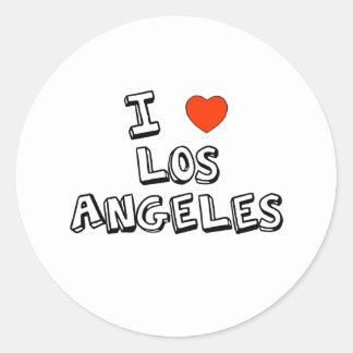 Mim coração Los Angeles Adesivo