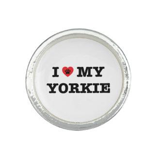 Mim coração meu anel de Yorkie